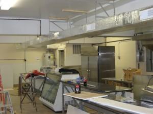 Tony Boloney's Counters, Deli Case Installed